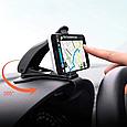 Тримач для смартфона / GPS навігатора в машину на козирок приладової панелі, фото 2