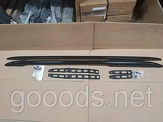 Рейлинги Crown черные Fiat Doblo (10-15)