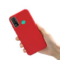 Чехол силиконовый для Huawei P Smart 2020 Red