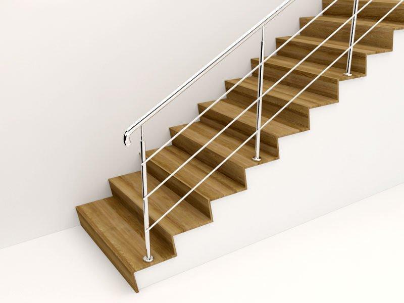Перила из нержавеющей стали для лестниц
