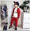 Детский костюм тройка штаны, кофта и футболка, фото 4