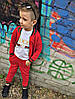 Детский костюм тройка штаны, кофта и футболка, фото 5
