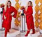 """Шикарный женский махровый комплект халат + сапожки до больших размеров 106-1 """"Кружево Жемчуг"""" в расцветках, фото 3"""