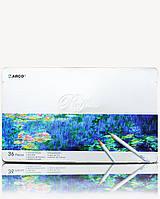 Карандаши цветные 36 цв. в металлическом пенале Marco Raffine 7100-36TN