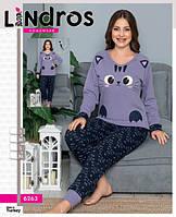 Пижама женская хлопковая Интерлок  6263