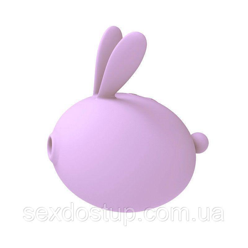 Вакуумный стимулятор с вибрацией KissToy Miss KK Purple