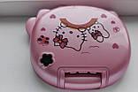 Детский мини телефон, телефон раскладушка Hello Kitty K688, цвет розовый, фото 3