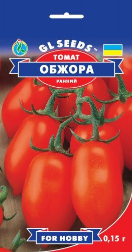 Семена Томата Обжора (0.15г), For Hobby, TM GL Seeds