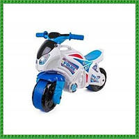 Детская каталка-мотоцикл Технок (5125) Белый