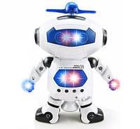 Інтерактивна іграшка танцюючий робот Dancing Robot RIAS 99444 White (4_00446)