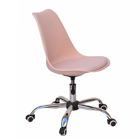 Офисный пластиковый стул  Milan Office, розовый 63, фото 2