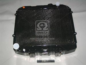 Радиатор водяного охлаждения УАЗ (3-х рядный) двигателяЗМЗ-514 с отверстием под датчик (пр-во ШААЗ) (арт.