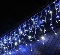 Гирлянда Icicle (бахрома) All Flicker (Полное медленное мерцание) 84 LED 2.0х0.5м