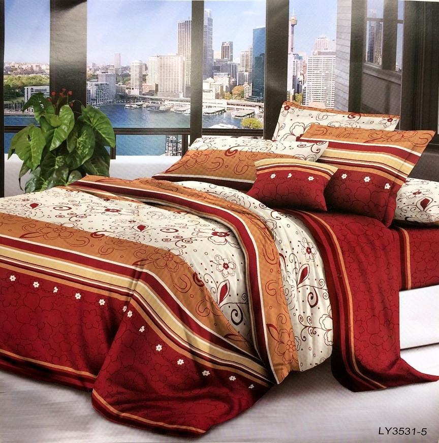 Комплект постельного белья Поликоттон двухспальный (180*220)