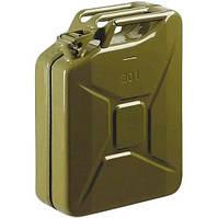 Канистра 20 литров, металлическая вертикальная Сталь