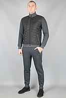 Зимний спортивный костюм Nike 5667 Тёмно-серый