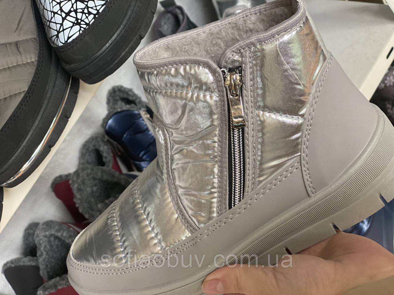 Ботинки зимние женские Кредо, опт.