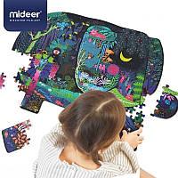 Фигурный пазл гигант слон Mideer 280 элементов, фото 1