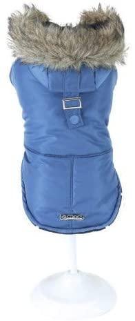 Куртка утепленная для собак Croci BLUE PARKA 20 см