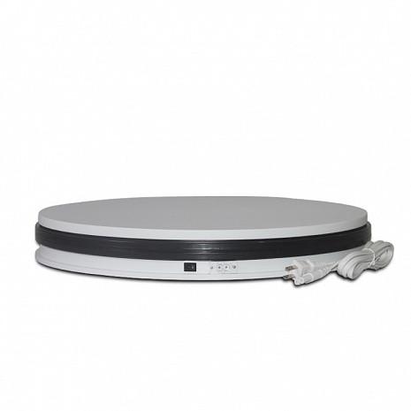 Обертається 360 підставка для предметної зйомки Turntable-BKL NA350 35 см біла