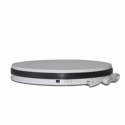 Обертається 360 підставка для предметної зйомки Turntable-BKL NA350 35 см біла, фото 2