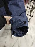 Молодіжна чоловіча зимова куртка VArt матова, фото 7