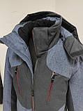 Молодіжна чоловіча зимова куртка VArt матова, фото 10