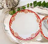 Винтажное чайное трио, чашка, блюдце, тарелка, Германия, Heinrich Baensch, фарфор, фото 5