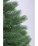 Штучна ялинка лита 2.3 м Буковельська зелена. Ялинка лита зелена. Ялинка новорічна лита, фото 6