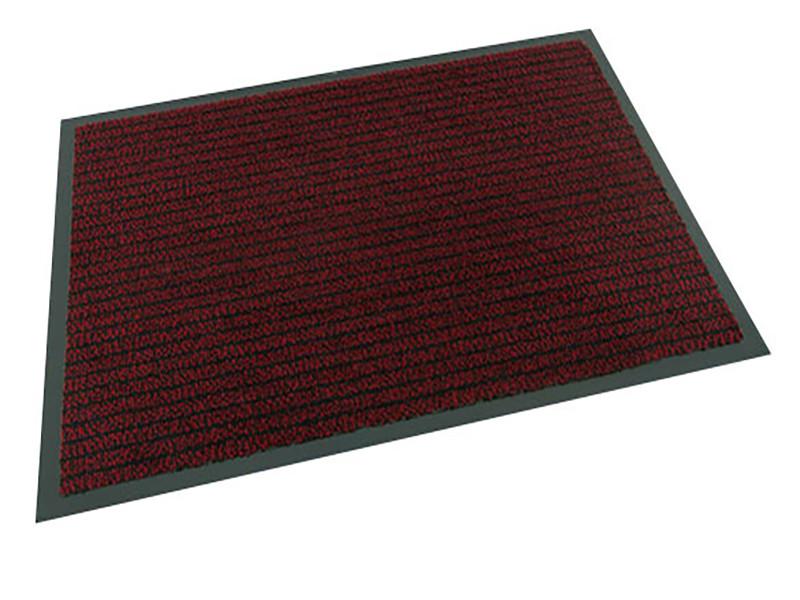 Ковер грязезащитный Ибица, 120х130см., красный
