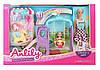 Ігровий набір для дівчинки з лялькою.