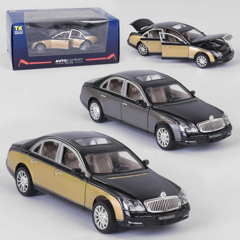 """Машина EL- 7705 (36) """"AutoExpert"""", 2 вида, масштаб 1:24, свет, звук, иннерция, открываются двери, в коробке"""