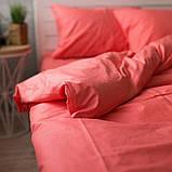 Комплект постельного белья из поплина Турция 100% хлопок, постельное белье поплин PF008 Евро, фото 4