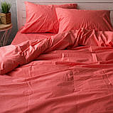 Комплект постельного белья из поплина Турция 100% хлопок, постельное белье поплин PF008 Евро, фото 2