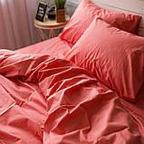 Комплект постельного белья из поплина Турция 100% хлопок, постельное белье поплин PF008 Евро, фото 3