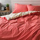 Комплект постельного белья из поплина Турция 100% хлопок, постельное белье поплин PF009 Семейный, фото 3