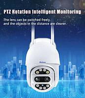 Камера відеоспостереження Marlboze M-ZY128 дві лінзи 3.6 мм+12мм Wi-Fi 2MP, фото 1