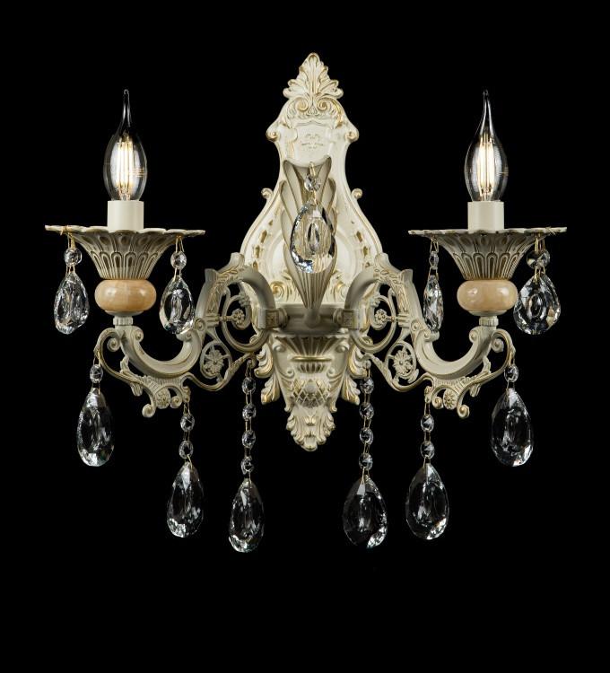 Бра классическое с хрусталем Splendid-Ray 30-3304-76
