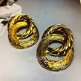 "Серьги ""Gold Grace"", 1 пара, фото 4"