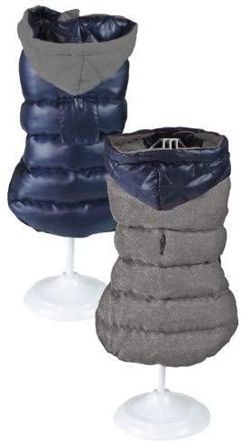Куртка утепленная для собак Croci BIUE. Двухсторонняя 25 см