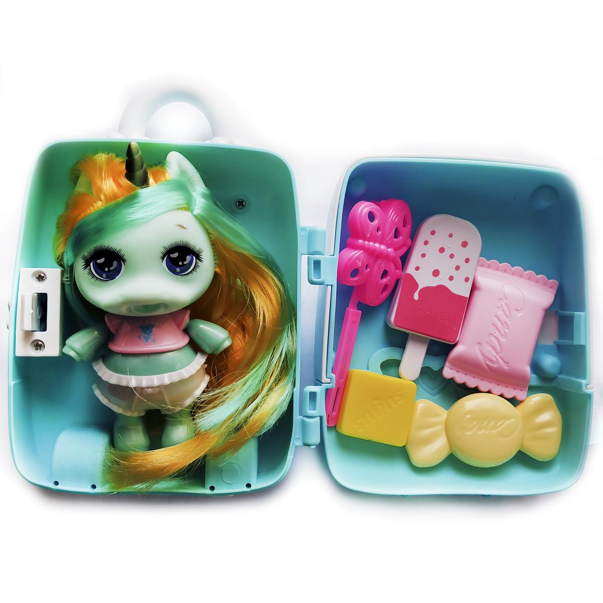 """Кукла единорожка """"Пупси   Poopsie"""" в чемоданчике 12см Вид 3"""