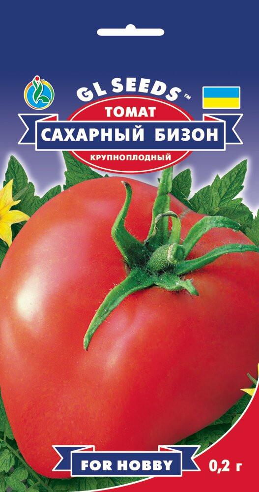 Семена Томата Сахарный бизон (0.2г), For Hobby, TM GL Seeds