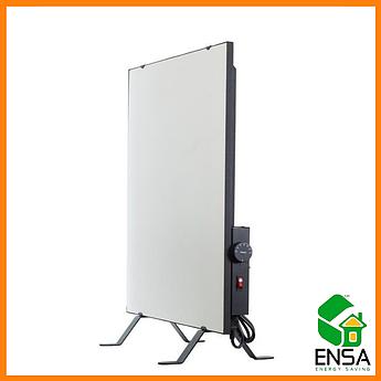 Обогреватель инфракрасный ENSA CR500Т с терморегулятором,белая керамическая панель 600х600х18мм, 475 Вт