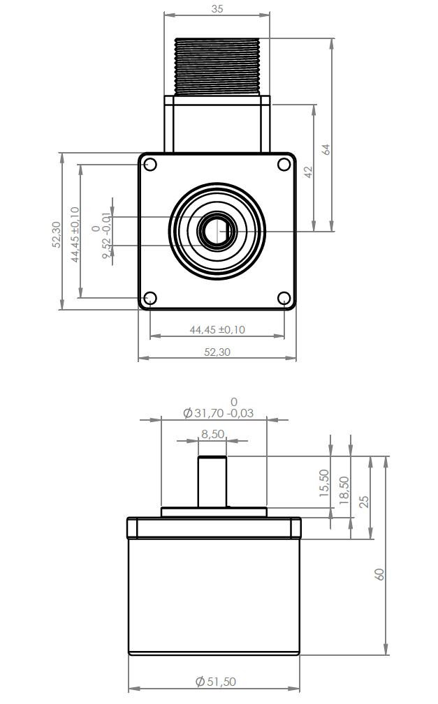 Энкодер FNC 52D