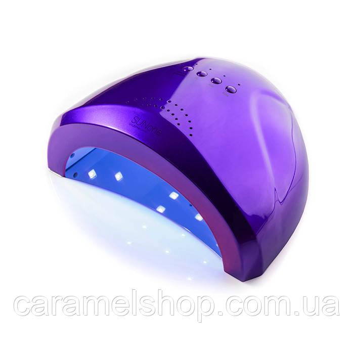Гибридная лампа Sun One для сушки ногтей UV/LED 48w SUNOne, фиолетовый
