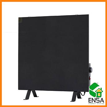 Обогреватель инфракрасный ENSA CR500Т с терморегулятором,черная керамическая панель 600х600х18мм, 475 Вт