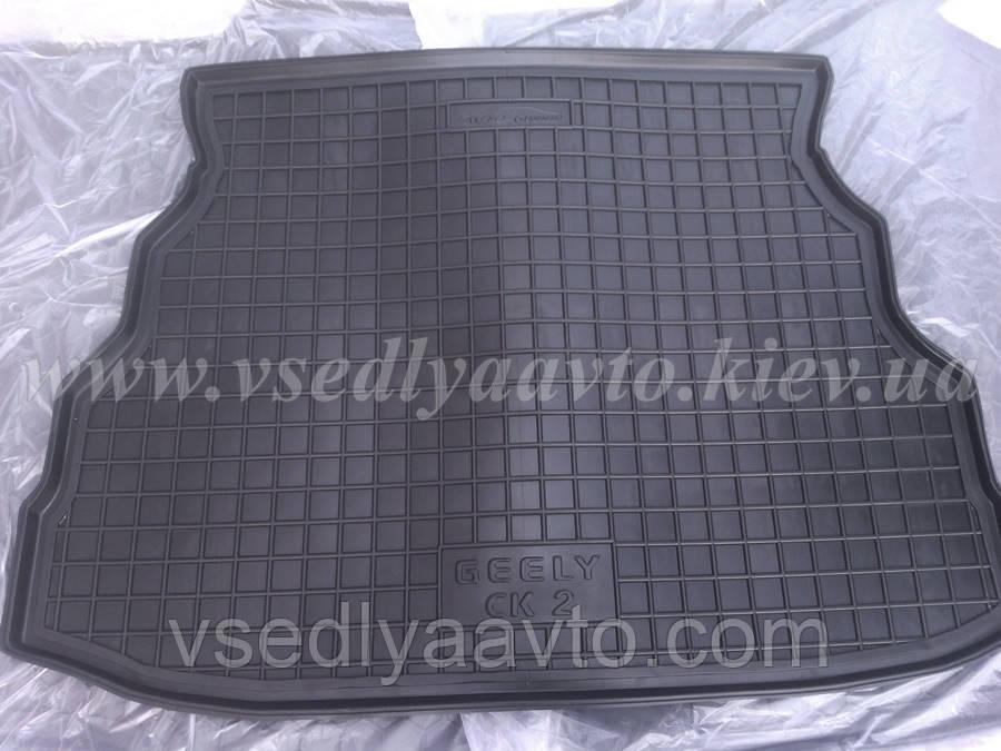 Коврик в багажник на GEELY CK, CK2 (AVTO-GUMM) резина+пластик