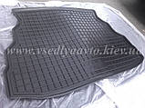 Коврик в багажник на GEELY CK, CK2 (AVTO-GUMM) резина+пластик, фото 2