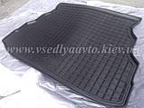 Коврик в багажник на GEELY CK, CK2 (AVTO-GUMM) резина+пластик, фото 3