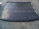 Коврик в багажник FORD Focus с 2011 г. универсал  (AVTO-GUMM) пластик+резина, фото 2
